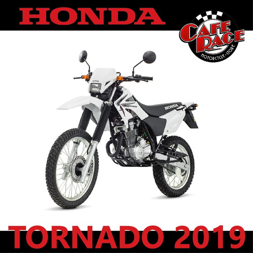 honda xr 250 tornado 2019 | entrega inmediata, financiada!