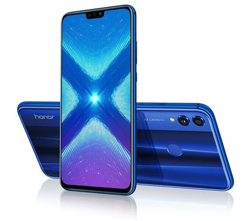 honor 8x, 6,5  64gb/4gb, 4g lte dual sim azul