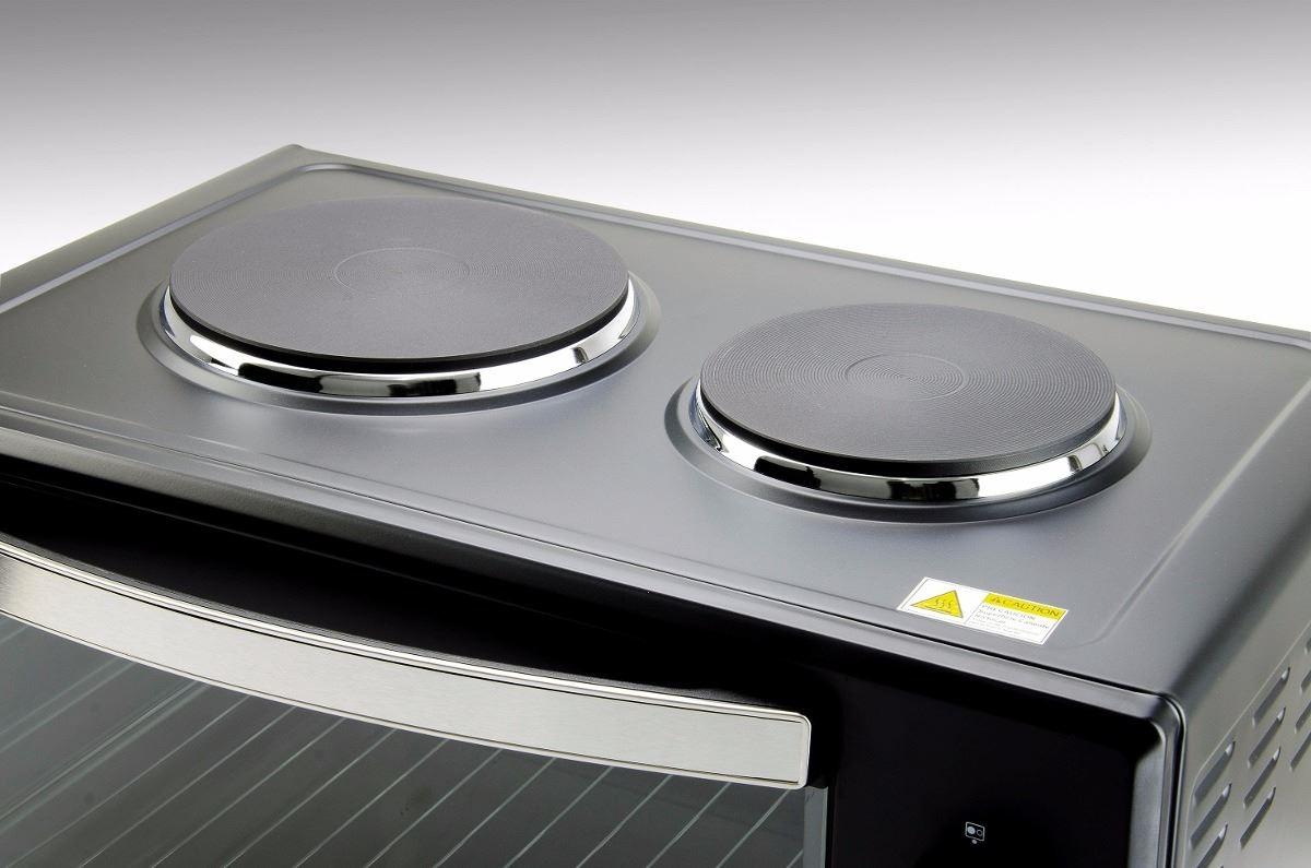 Horno electrico 50lts cocina de mesa con 2 discos oferta for Ofertas de hornos electricos