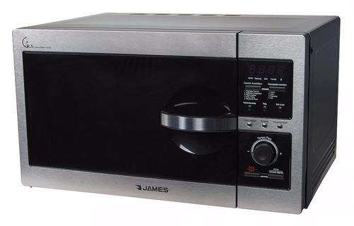 horno microondas james j-26 kdgi - inox maxi-hogar