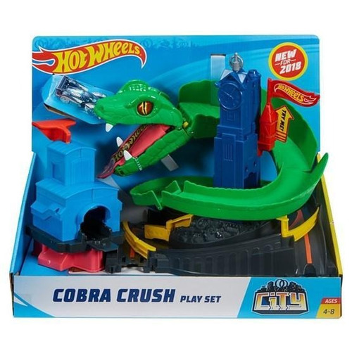 hot wheels - cobra trituradora