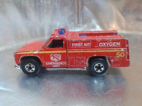 hot wheels - emergency squad de 1977  m.i. hong kong #5