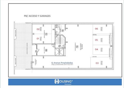housing hocquart - 2 dormitorios venta