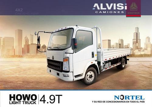 howo carga 4 toneladas c/ caja + iva