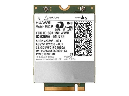 hp hs3110 hspa+ w10 wwan wireless cellular modem m.2