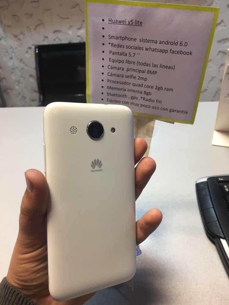 Húawei Y5 Lite Libre Whatsapp Face Juegos