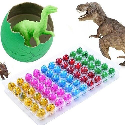 huevitos de dinosaurio novedad un regalo