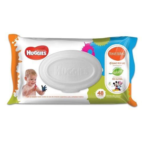 huggies toallitas travesuras 48 - bebés y niños