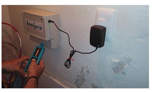 humedad de cimientos electro-ósmosis solución garantida