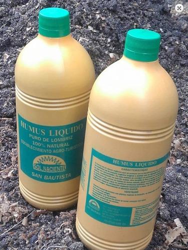 humus de lombriz liquido 1lt sol naciente