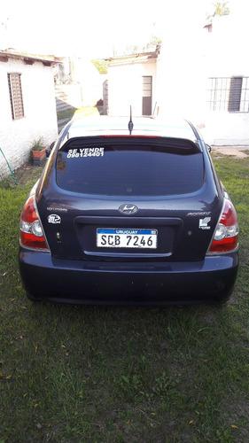 hyundai accent hatchback, 2008, 3 puertas, full.