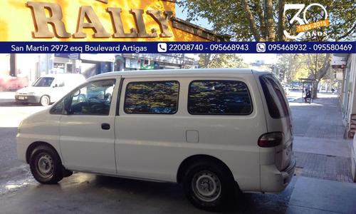 hyundai h1 diesel año 2005 furgon entrega u$s6000 y ctas