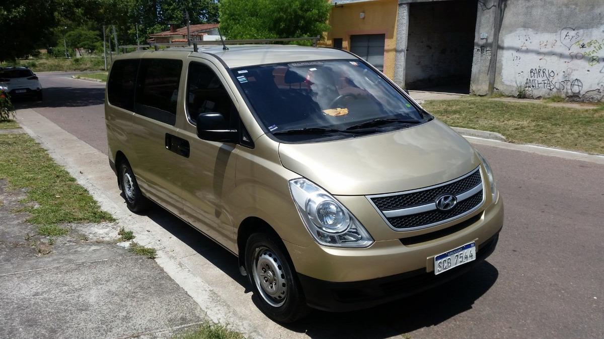 Hyundai H1 Grand Starex 2010 2 4 Nafta 7 Pasajeros U S border=