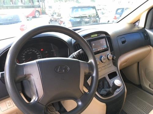 hyundai h1 grand starex minibus 12 pasajeros 2009 cuero 2.4
