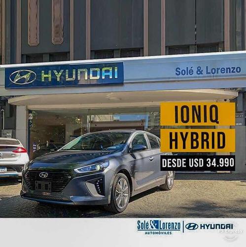 hyundai ioniq 1.6 gdi hibrido at 5p 2019