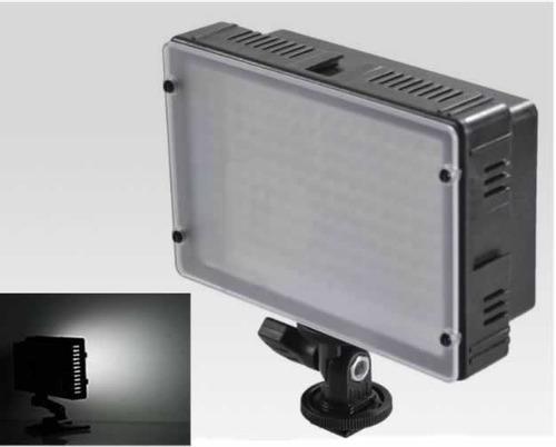 iluminador luz led p/ video 160 led p/ nikon canon sony etc
