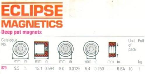 iman de gran potencia 1kg eclipse magnetics 829 -herracor