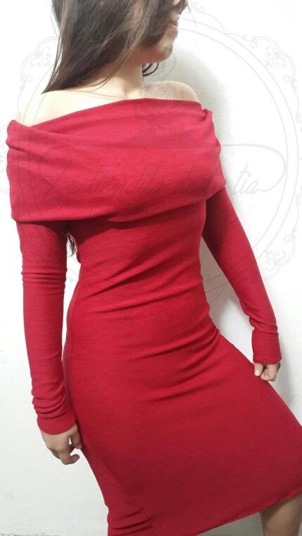 fd872bffcd Imperdible Vestido Corto De Dama Cuello Caído -   800