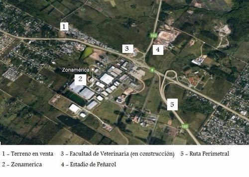 importante terreno ruta 8 esq. laudelino vazquez