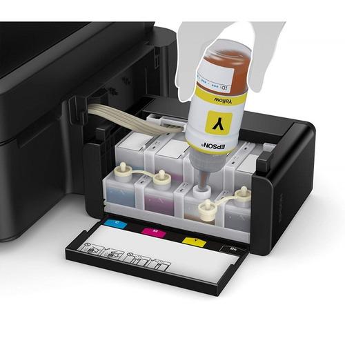 impresora epson mf l385 sistema continuo wifi 2 kit de tinta