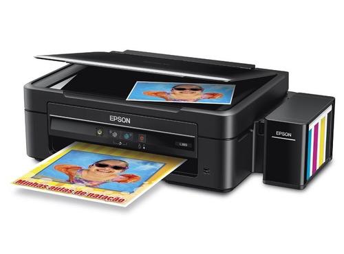 impresora epson multifuncion scaner tinta continuo