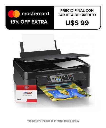 impresora multifunción epson wifi xp352+cartuchos de regalo