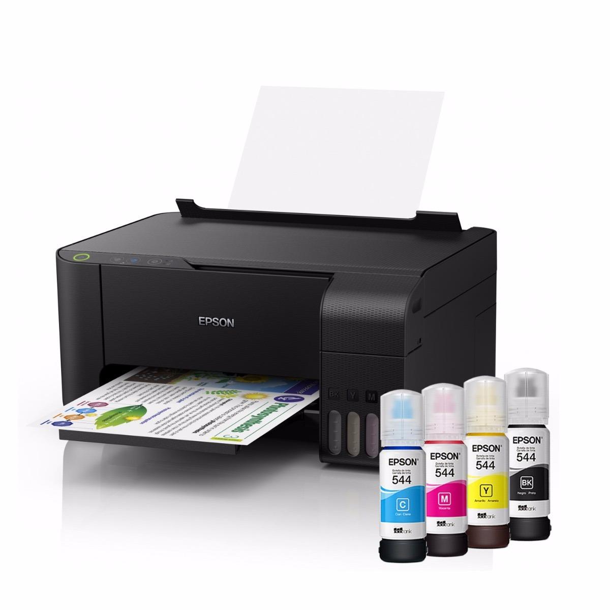 Impresora Multifuncional Epson Ecotank L3110 Wifi C11cg87303
