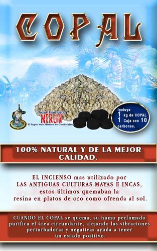 incienso de copal - 1 kilo la mejor calidad del mercado