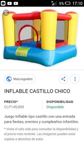 inflable y cama elastica
