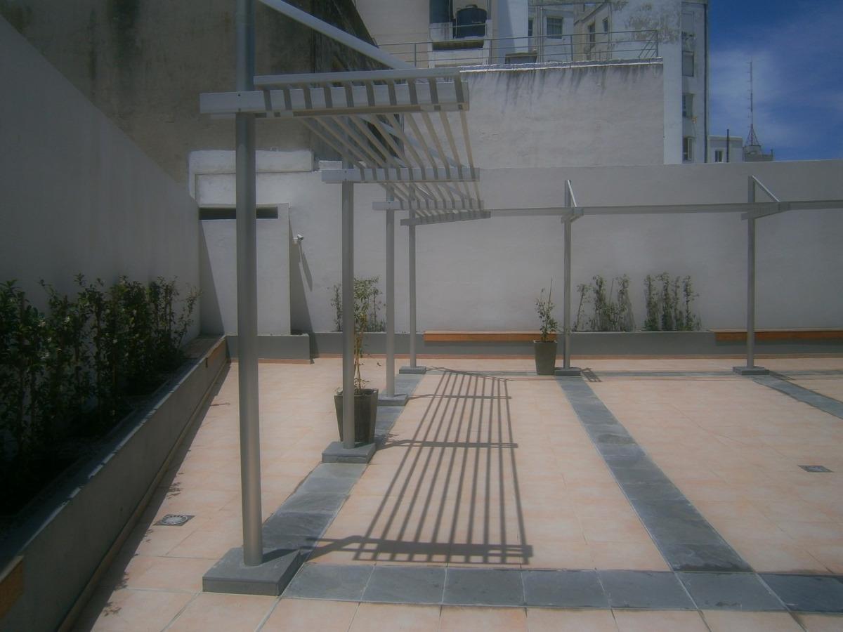 inmobiliaria verde alquila, monoambiente a pasos de terminal