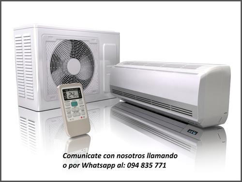 instalación de aire acondicionado. el mejor precio de plaza
