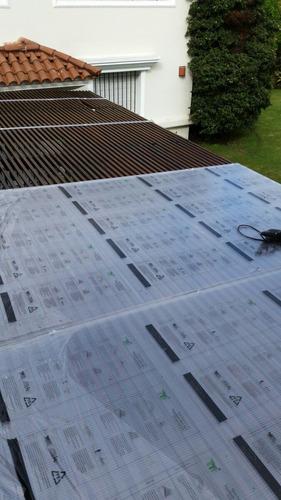 instalación  policarbonato-decks-cielorrazos