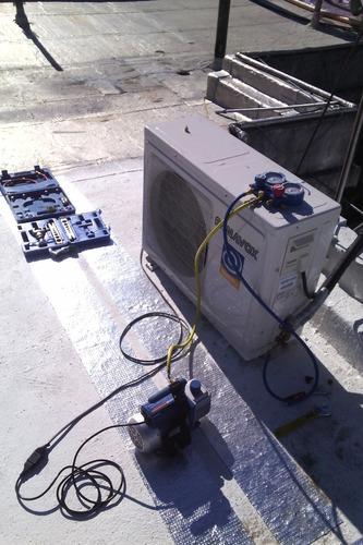 instalación  reparacion traslado aire acondicionado