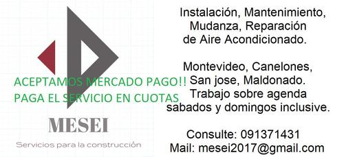 instalación, service, reparación, traslados.
