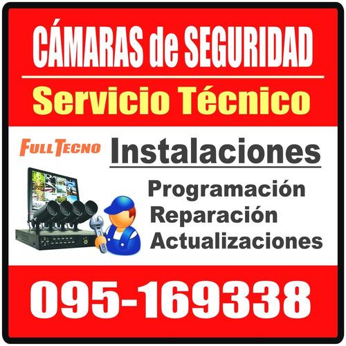 instalador camaras de seguridad cctv ahd full hd wifi ip