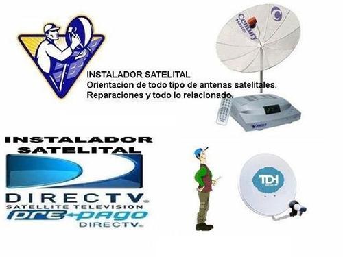 instalador satelital, directv, etc, rocha, la paloma y otros