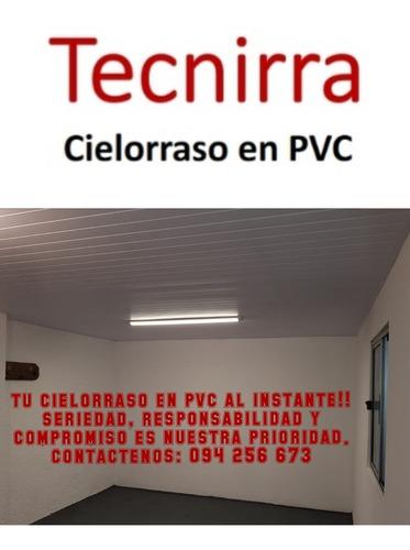 instaladores de cielorraso en pvc