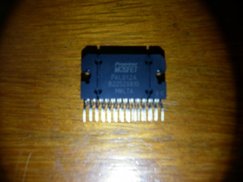 integrado salida audio radio pioneer pal012a original.