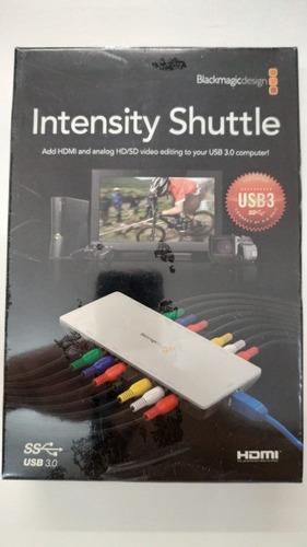 intensity shuttle capturadora