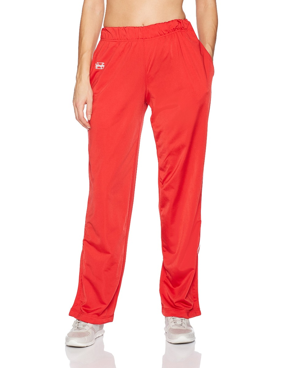 260564cf98 Intensity Womens Brushed Tricot Warmup Pant, Scarlet, Lar