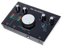 interfase audio para grabacion / maudio mtrack 2 x 2m