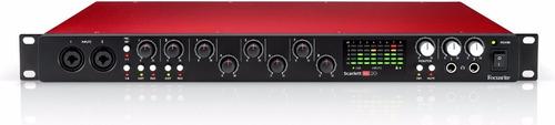 interfase focusrite scarlett 18i20 2da generación