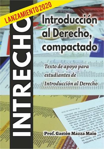 intrecho. libro de derecho para estudiantes.