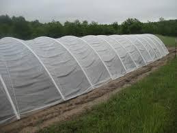 invernadero nylon uv térmico 150 mic - ancho 4,20 mts. promo