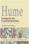 investigacion sobre el conocimiento humano  de hume david  b