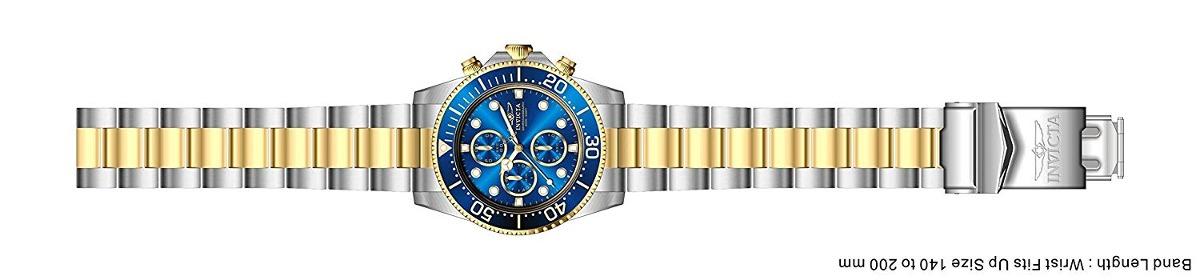 003e01ed452 invicta mens 1773 pro diver 18k gold ion plating and s. Cargando zoom.