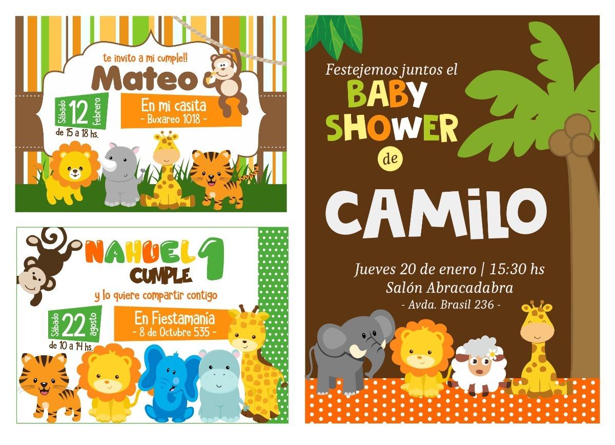 Invitaciones Cumpleanos Boda 15 Anos Baby Shower Tarjetas 13 00