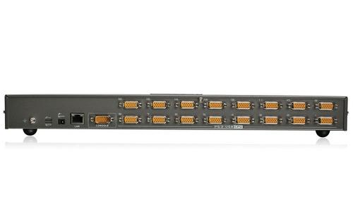 iogear 16 port ip based kvm and 17 inch lcd kvm console