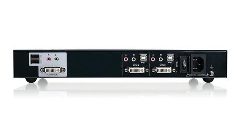 iogear 2 port dual link dvi secure kvm switch
