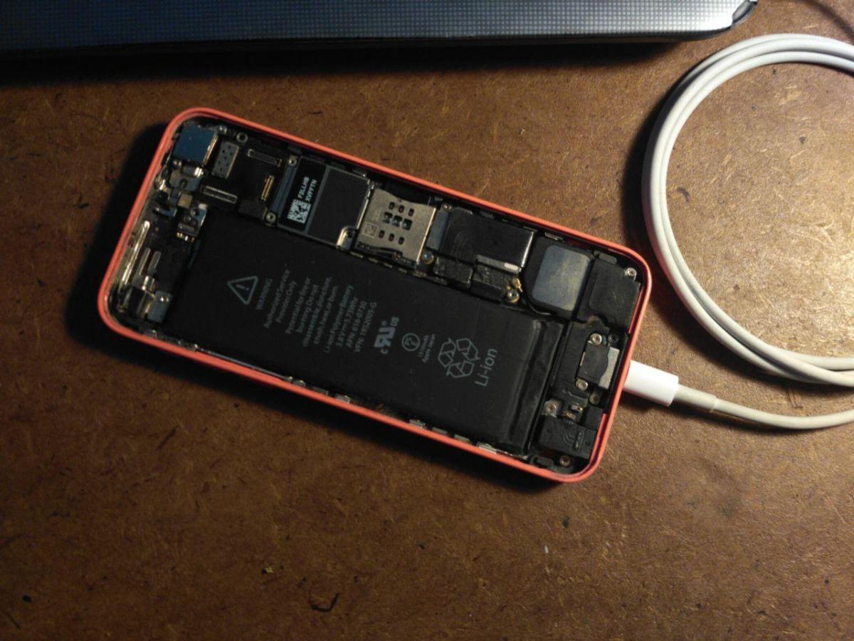 7429f8512cc iPhone 5c 16gb Para Reparar O Repuesto Funciona - $ 1.800,00 en ...